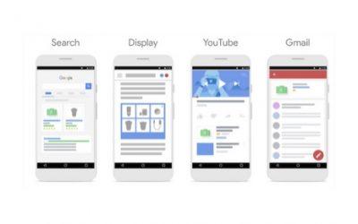 Google Shopping para Gmail y YouTube