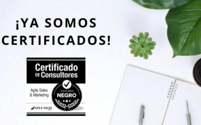 Ya somos certificados en el Método Agile Sales